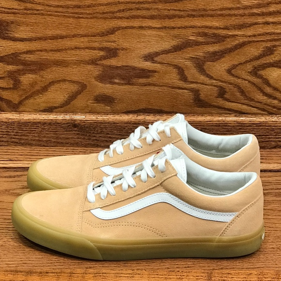 64be69947ab2c6 Vans Old Skool Double Light Gum Apricot Shoes